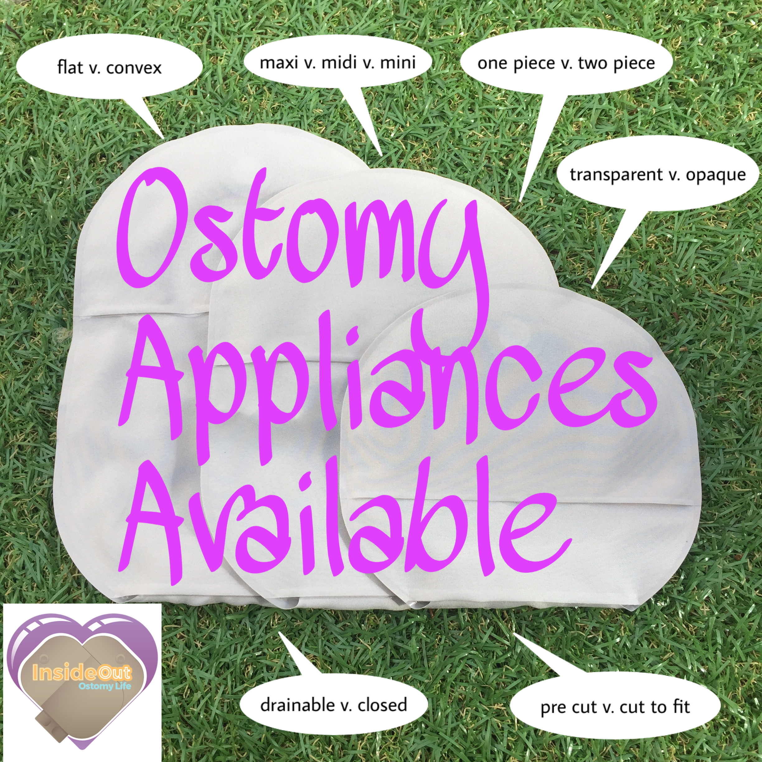 Ostomy Appliances Available