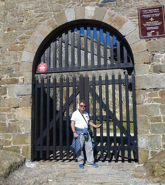 Geoff - France at St Marlo